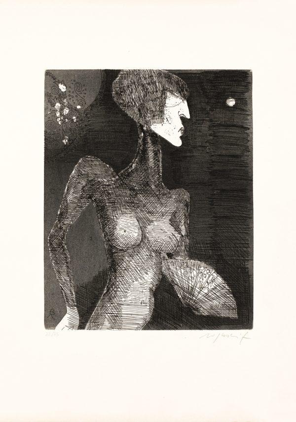 Gravure van Franco Rognoni